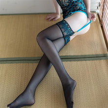 Load image into Gallery viewer, Sexy Peacock Pattern Ultra Elastic Stockings | Sexy Lingerie Canada