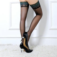 Load image into Gallery viewer, Sexy Sheer Lace Top Hold-Ups | Sexy Lingerie Canada