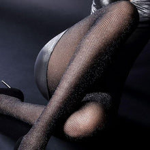 Load image into Gallery viewer, Sexy Shiny Fishnet Hook Stockings | Sexy Lingerie Canada