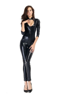 Sexy Wet-look Catsuit | Sexy Lingerie Canada