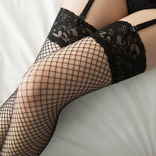 Load image into Gallery viewer, Sexy Women Stocking Calcetines Largos Sheer Thigh Silk Stockings | Sexy Lingerie Canada