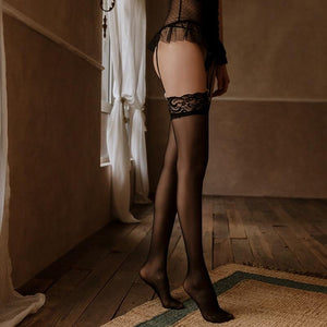 Sheer Lace Stockings | Sexy Lingerie Canada