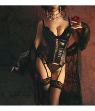 Load image into Gallery viewer, Steampunk Lace Corset Top Gothic Style Lingerie | Sexy Lingerie Canada