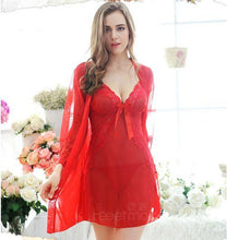 Load image into Gallery viewer, Three Piece Sleepwear Babydoll Lingerie | Sexy Lingerie Canada