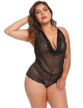 Load image into Gallery viewer, Transparent Halter Nightwear | Sexy Lingerie Canada