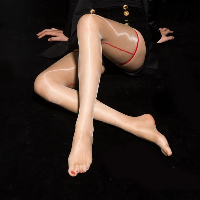 Woman Ultra Thin Sexy Shiny Backline Stockings | Sexy Lingerie Canada