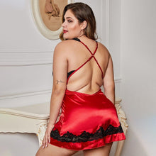 Load image into Gallery viewer, Women Backless Babydoll Mini Halter Nightwear | Sexy Lingerie Canada