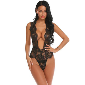 Women Body Stocking Sexy Floral See Through Lingerie | Sexy Lingerie Canada