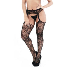 Load image into Gallery viewer, Women Erotic Babydoll Hollow Fishnet Stockings | Sexy Lingerie Canada