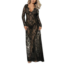 Load image into Gallery viewer, Women Lace Long Sleepwear | Sexy Lingerie Canada