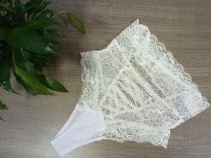 Women Lace Panty Open Crotch Transparent Panties | Sexy Lingerie Canada