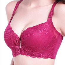 Load image into Gallery viewer, Women Lace Thin Cup Push-Up Bra | Sexy Lingerie Canada