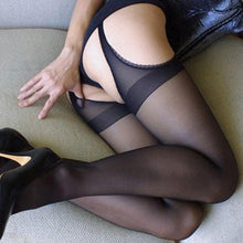Load image into Gallery viewer, Women Open Crotch Pantyhose Stockings | Sexy Lingerie Canada