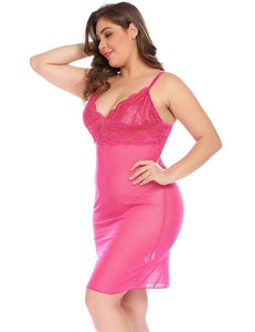 Women Plus Size Babydoll Sexy Set with Sheer G-String | Sexy Lingerie Canada