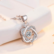 Load image into Gallery viewer, Topaz Pendant Necklace Set Sterling Silver 2.75 Carats(Buy 2 Free Shipping)