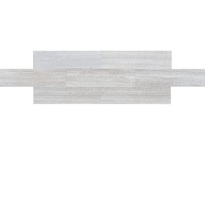 Haisa Light (White Oak) Marble 6x24 Honed Tile
