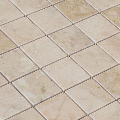 Cappuccino Marble 2x2 Polished Mosaic Tile