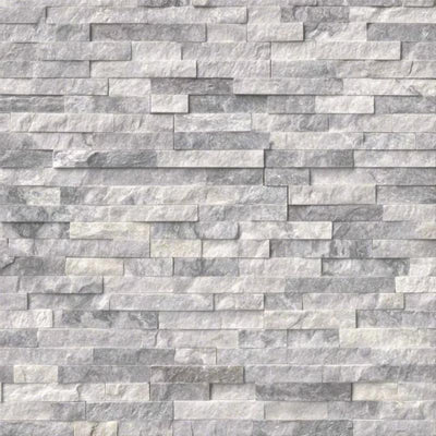Alaska Gray 6x24 Stacked Stone Ledger Panel