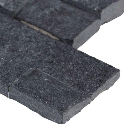 Coal Canyon 6x18 Stacked Stone Ledger Corner