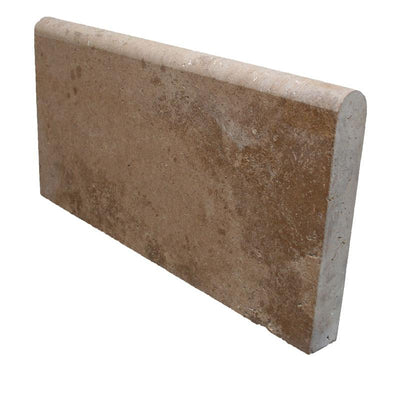 Noce Travertine 12x24 5cm Unfilled and Honed Pool Coping