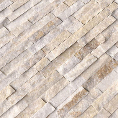 Arctic Gold 6x24 Stacked Stone Ledger Panel