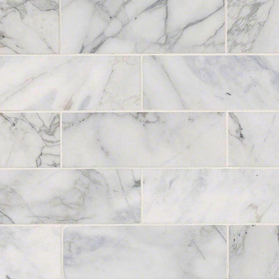 Calacatta Gold Marble 4x12 Polished Tile