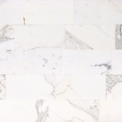 Calacatta Gold Marble 6x12 Polished Tile