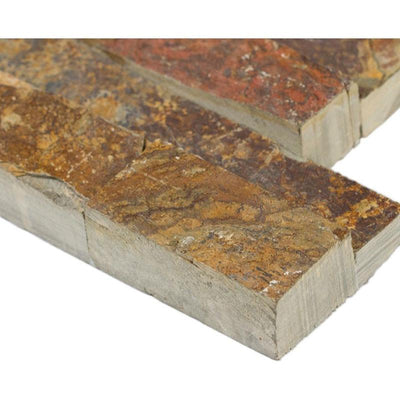 California Gold 6x24 Stacked Stone Ledger Panel