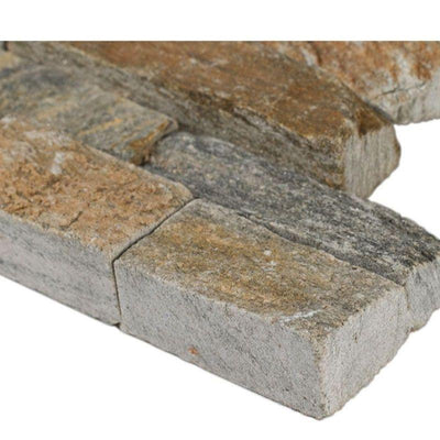 Canyon Creek 6x18 Stacked Stone Ledger Corner