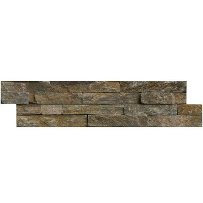 Canyon Creek 6x24 Stacked Stone Ledger Panel
