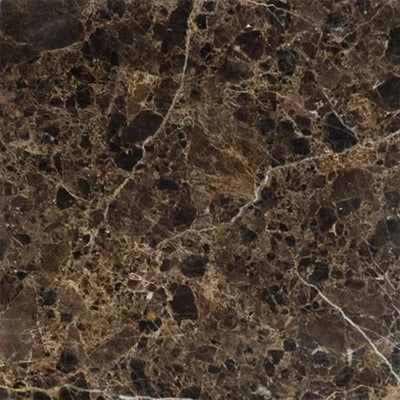 Emperador Dark Spanish Marble 12x12 Polished Tile