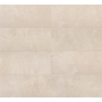 Crema Marfil Select Marble 12x24 Polished Tile