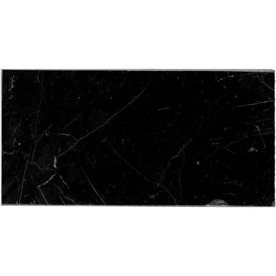 Nero Marquina Marble 3x6 Polished Tile