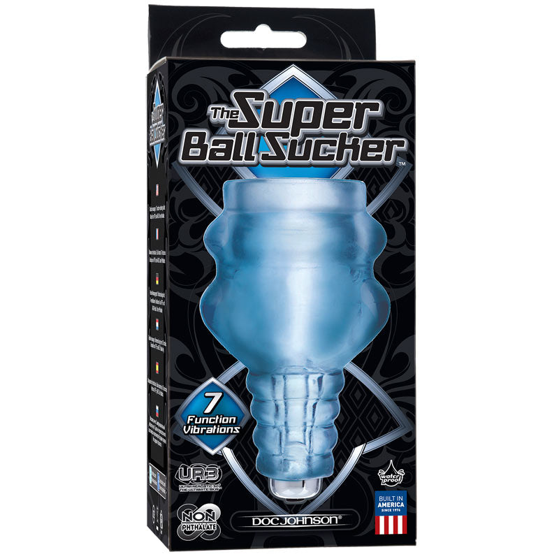 Vibrating Super Ball Sucker