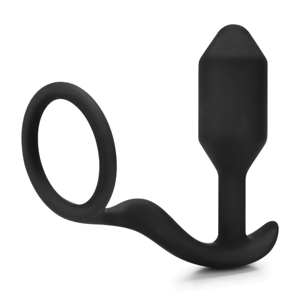 bVibe Snug And Tug Anal Plug And Cock Ring