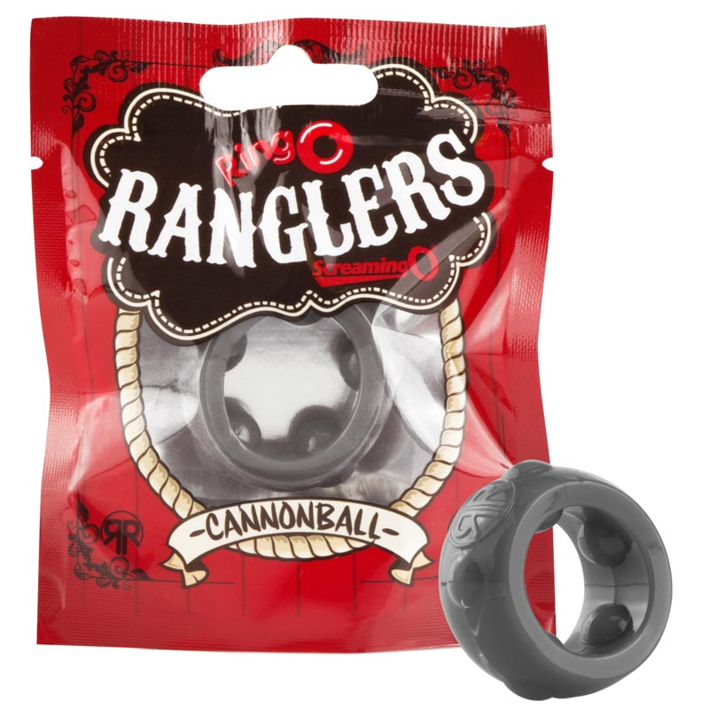 Screaming O Ranglers Cannonball Cockring