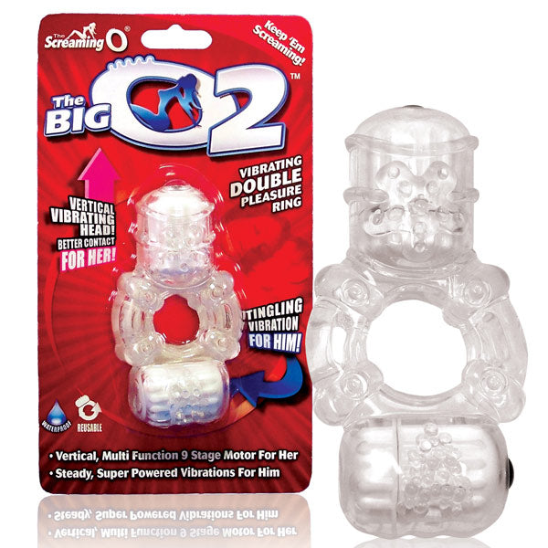 Screaming O The Big O2 Vibrating Cock Ring