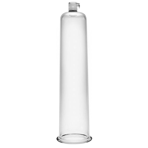 Size Matters Cock And Ball Cylinder Clear 2.75 Inch