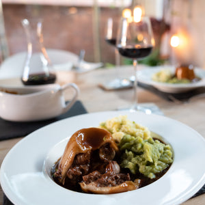 Sam's Famous Steak & Kidney Pudding with Sticky Toffee Pudding