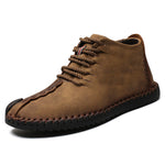 cozyrex,Menico Men Big Size Comfortable Stitching Ankle Boots,CozyRex,