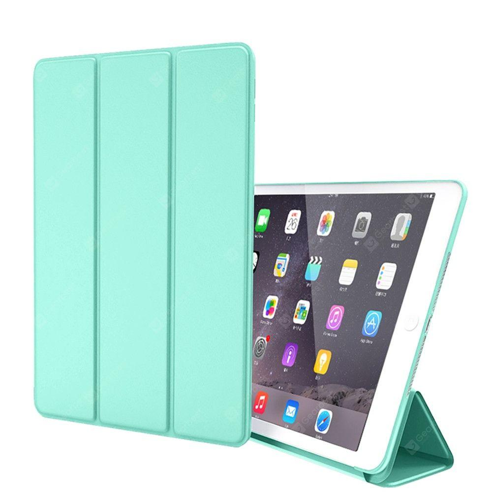 cozyrex,Silicone Soft Leather Smart Cover Case for iPad Air / Air 2 / 9.7 (2017) / (2018),CozyRex,
