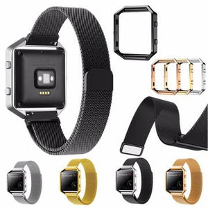 cozyrex,Replacement Large Size Metal Band Frame 235mm Wristband for Fitbit Blaze Watch,CozyRex,Watch & Band Accessories