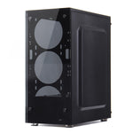 cozyrex,Coolmoon 397*197*423mm Transparent Side Panel ATX Desktop PC Computer Case,CozyRex,