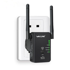 cozyrex,Wavlink WS-WN578 2.4G 300Mbps Wireless Router Wifi Repeater Booster Extender 2x5dBi Antennas,CozyRex,
