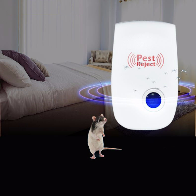 cozyrex,Loskii DC-9006W Ultrasonic Electronic Pest Repeller Mosquito Mouse Rat Multi-function Rodent Insect Repellent Mini Insect Killer Dispeller Rode US EU Plug (EU Version),CozyRex,