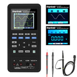 cozyrex,Hantek 3in1 Digital Oscilloscope+Waveform Generator+Multimeter Portable USB 2 Channels 40mhz 70mhz LCD Display Test Meter Tools Ultra-low Power Design With Large-capacity lithium Battery One-key AUTO,CozyRex,