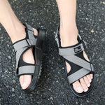 cozyrex,Hook&Loop Opened Toe Casual Beach Soft Sole Sandals,CozyRex,