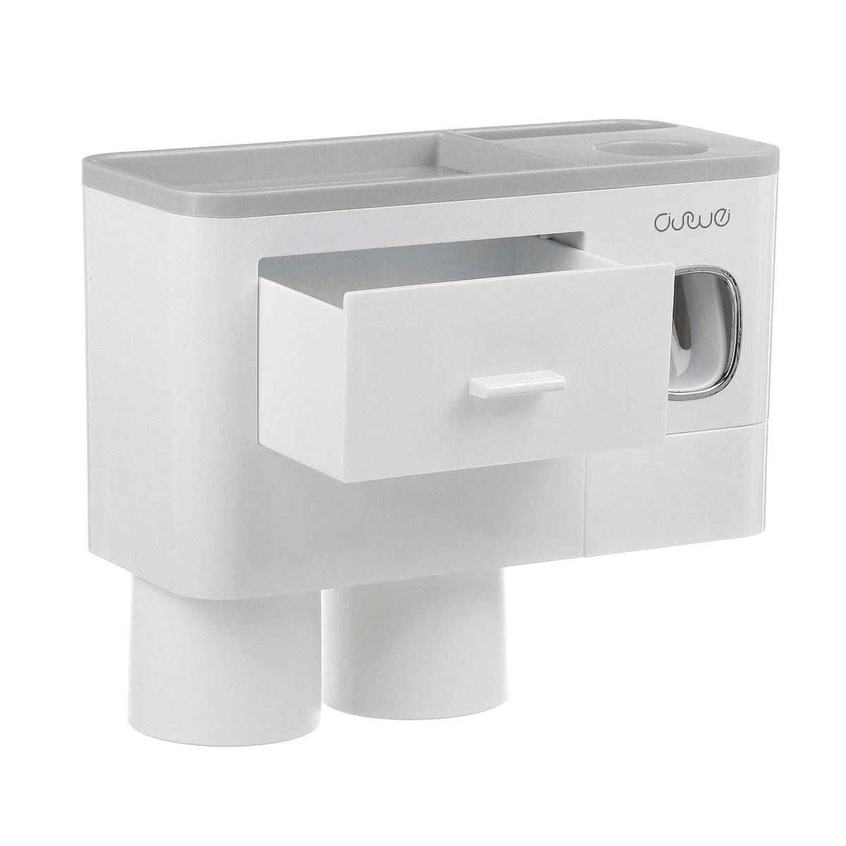 cozyrex,Toothbrush Holder Inverted Cups with Toothpaste Squeezer,CozyRex,