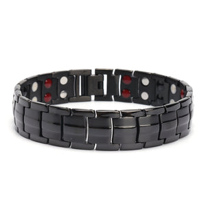 cozyrex,Stainless Steel 4 in 1 Strong Magnetic Therapy Bracelet,CozyRex,