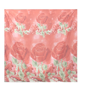 cozyrex,4Pcs 3D Rose Printed Bedding Sets Quilt Cover Bed Sheet Pillowcases Duvet Cover,CozyRex,